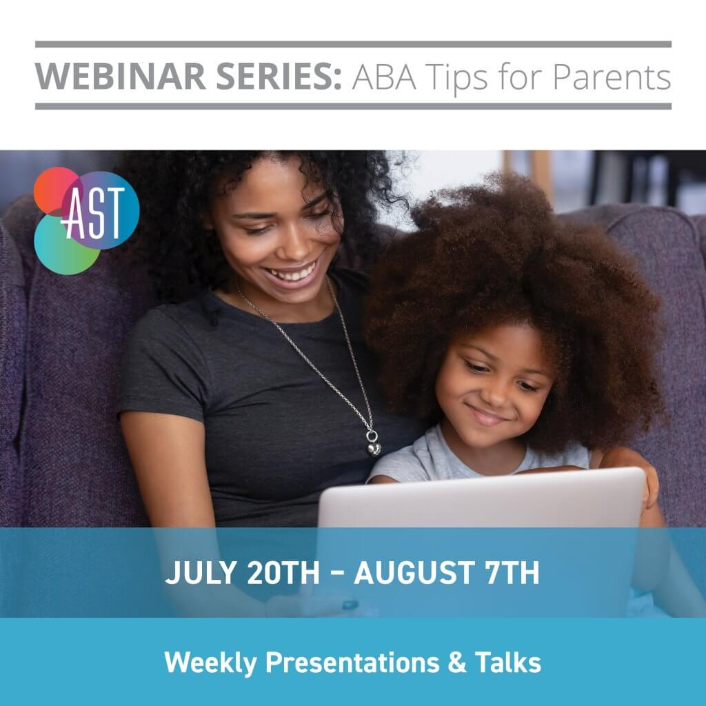 WEBINAR SERIES: ABA Tips for Parents