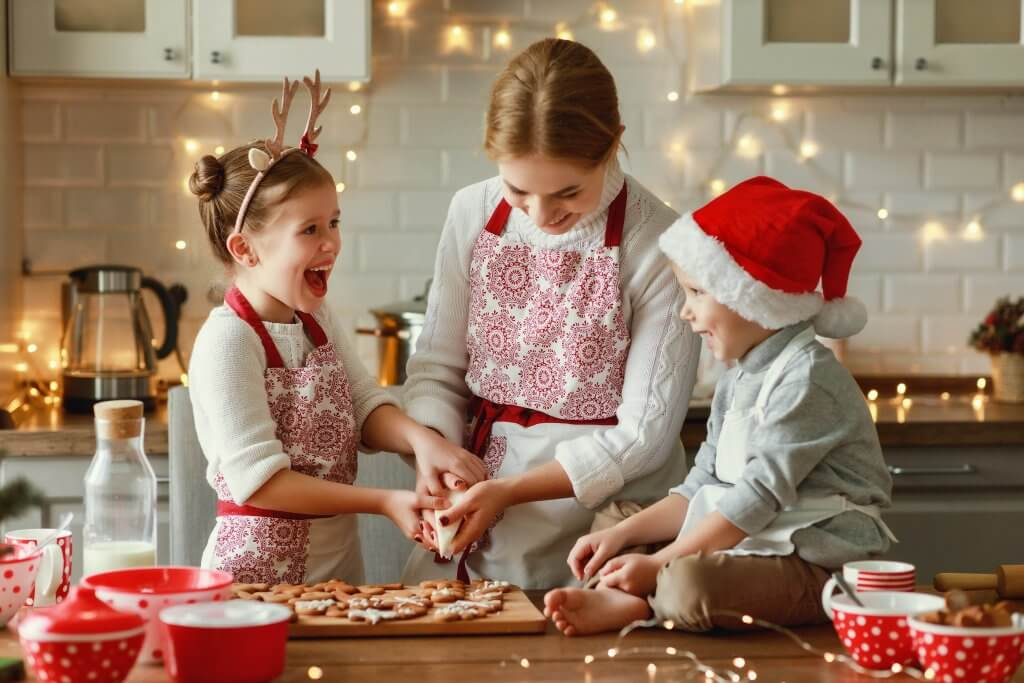 Make Holiday Baking with Your Child a Success